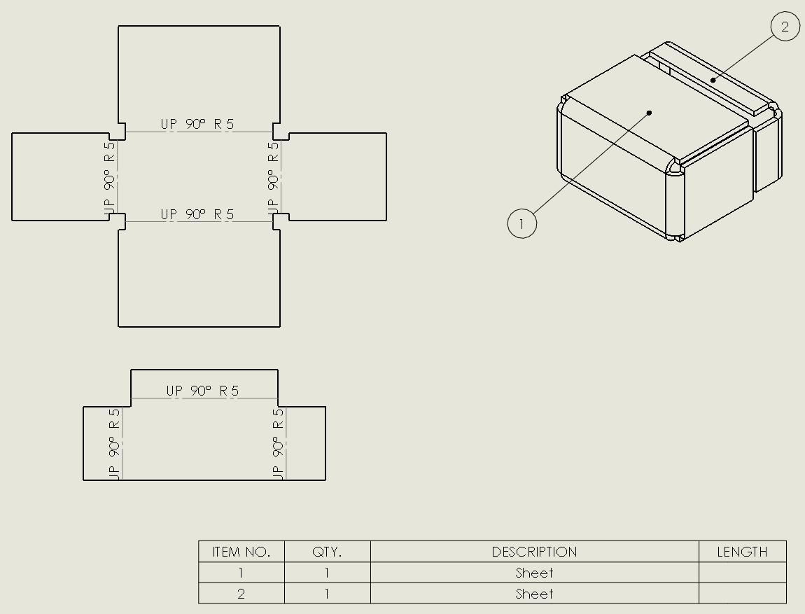 Multibody sheet metal parts - Peter CAD